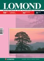 Фотобумага Lomond глянцевая ( формат А4 , плотность 150 г/м2 односторонняя глянцевая ) 25 листов
