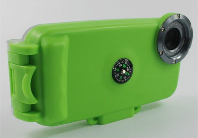Чехол для дайвинга Seashell SS-i6 для iPhone 6/6S Green