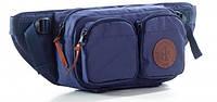 Поясная сумка большого размера GIN синяя 753951