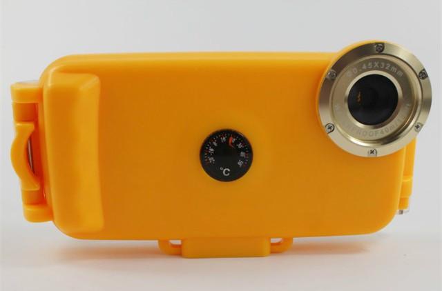 Чехол для дайвинга Seashell SS-i6 для iPhone 6/6S Yellow