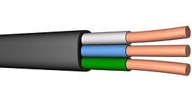 Провод соеденительный ПВС 3х4,0