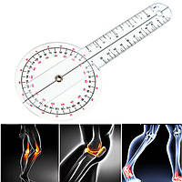 Гониометр линейка для измерения подвижности суставов 265 мм 360°