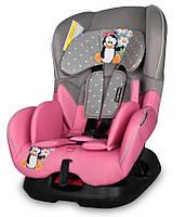 Автокресло Bertoni CONCORD Grey&Pink Penguin***