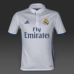 Футбольная форма 2016-2017 Реал Мадрид (Real Madrid), Adidas, домашняя, белая