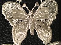 Кружевная  кремовоя бабочка