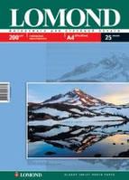 Фотобумага Lomond глянцевая ( формат А4 , плотность 200 г/м2 односторонняя глянцевая ) 25 листов