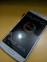 Дисплей с сенсорным экраном для телефона SAMSUNG I9500  S4  белый Огиринал