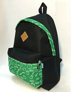 Рюкзак Milk Clothing - Pocket Green Backpack