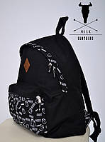 Рюкзак Milk Clothing - Pocket Black 2 Backpack