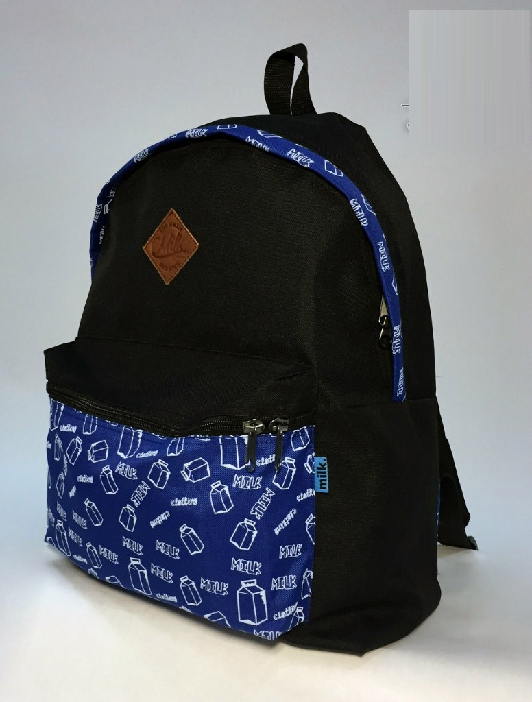 Рюкзак Milk Clothing - Pocket Navy Backpack