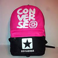 Рюкзак молодежный Сonverse, Конверс черный с розовым