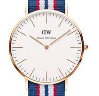 Кварцевые часы DW jeans gold - гарантия 6 месяцев