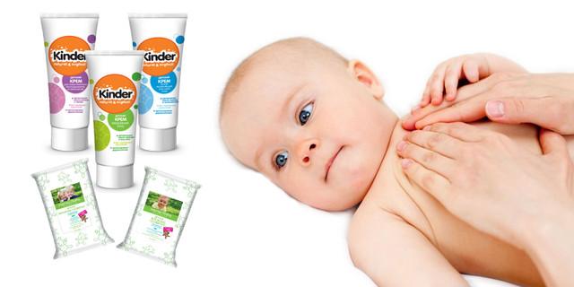 Детские средства для тела