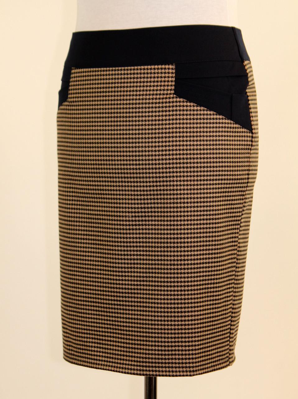 Теплая юбка в клетку 48-54 р ( разные цвета )