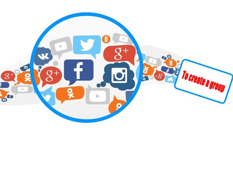 Создание и оформление групп в соцсетях