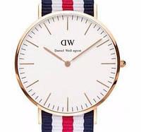 Кварцевые часы DW Сanterbury gold - гарантия 6 месяцев