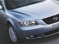 Реснички на фары Hyundai Sonata NF 2005-2010