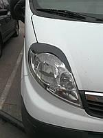 Реснички на фары Renault trafic\ Opel Vivaro\ Nissan Primastar виваро трафик примастар