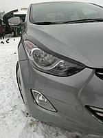 Реснички на фары Hyundai Elantra 2011+ г.в. Елантра
