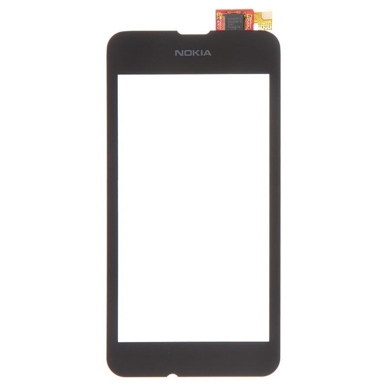 Тачскрин для Nokia Lumia 530 (cенсор, сенсорный экран, touch screen)