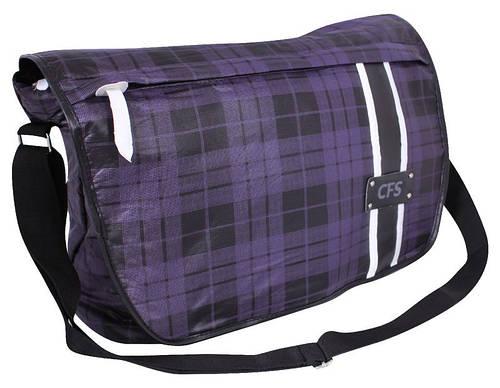 """Фиолетовый мессенджер на плечо 26x38x13 см. """"Violet"""" Cool for school CF85237"""