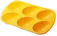 Силиконовая форма для выпечки 6 яиц Empire ЕМ 0055, 29*17*3.5 см