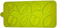 Силиконовая форма для выпечки Листья 8 штук Empire ЕМ 7146, 20*12*2 см
