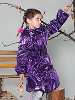 Подростковое пальто для девочки 122-158
