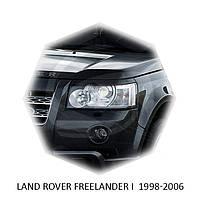 Реснички на фары Land Rover FREELANDER I 1998-2006 г.в. Ленд Ровер Дриландер