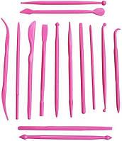 Набор кондитерских ножиков (стеков) для мастики Empire ЕМ 8629, 14 шт