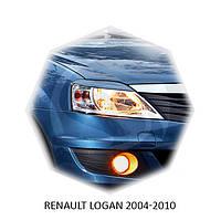 Реснички на фары Renault LOGAN 2004-2010 г.в Рено Логан