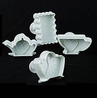 Набор кондитерских плунжеров Кухня  Empire ЕМ 8608, 4 штуки