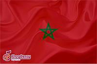 Флаг Марокко 80*120 см.,флажная сетка.,2-х сторонняя печать