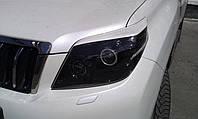 Реснички на фары Toyota Prado 150 2009+ г.в. Тойота Прадо 150