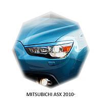 Реснички на фары Mitsubichi ASX 2010+ г.в.