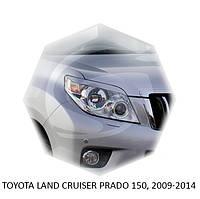 Реснички на фары Toyota LAND CRUISER PRADO 150, 2009-2014 г.в. Тойота Ленд Крузер Прадо