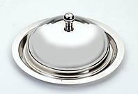 Маслёнка круглая из нержавеющей стали Empire ЕМ 2523