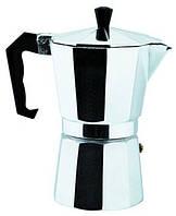 Кофеварка гейзерная алюминиевая  Empire ЕМ 9543, 6 чашек