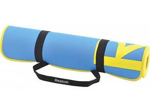 Коврик Reebok для аэробики и фитнеса (голубой) 1730х610х6 мм, фото 2
