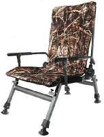 Складное регулируемое кресло для рыбалки камуфлированное Carp F5R
