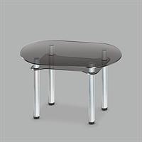 Стол обеденный стеклянный Калипсо GG/мет