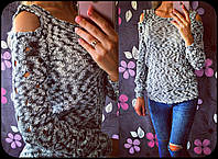 Женский стильный свитерок/кофточка (6 цветов), фото 1