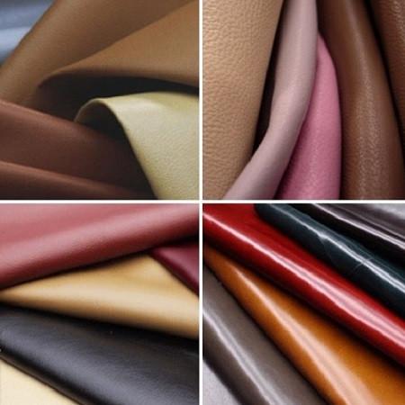 Натуральная кожа и замша для обуви и сумок