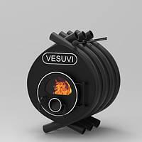 Печь отопительная «VESUVI» classic «О1» со стеклом, фото 1