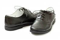 Черные туфли из натуральной кожи. раз. 38