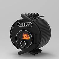 Печь для отопления дома «VESUVI» classic «О1» стекло+перфорация, фото 1