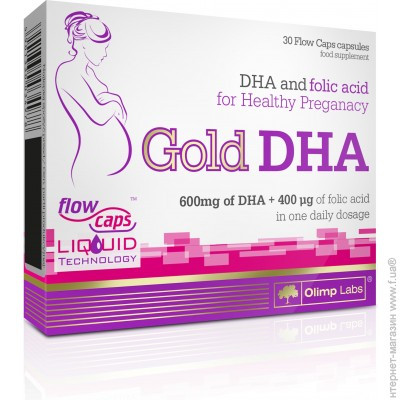 Gold DHA (30 caps)