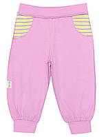 Штанишки для девочки: цвет -фуксия,размер-56 см,0-1 мес