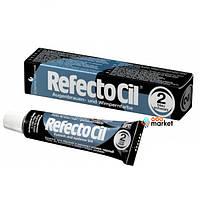 Краска для бровей и ресниц RefectoCil Черно-синяя 15 мл