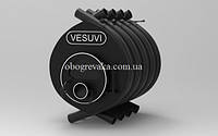 Печь на дровах «VESUVI» classic «О2» со стеклом, фото 1